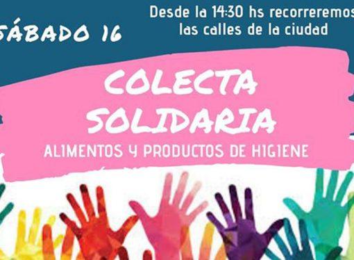 Sastre solidario: lanzan la segunda colecta de alimentos y artículos de limpieza