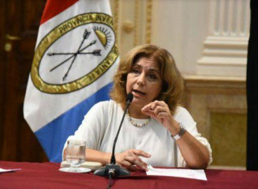 La ministra de Salud de la provincia, Sonia Martorano, dio positivo de coronavirus