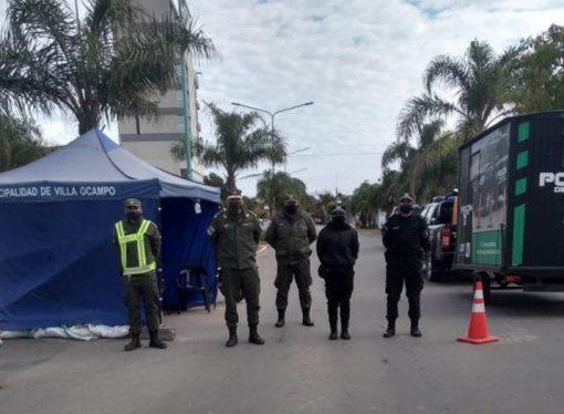 Luego de la aparición de un caso, la provincia decidió aislar a Villa Ocampo
