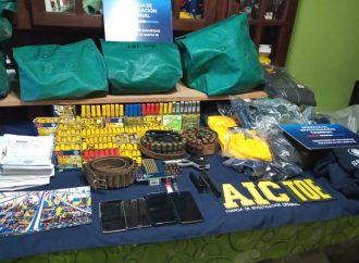 La provincia secuestró 2190 armas en los primeros ocho meses del año