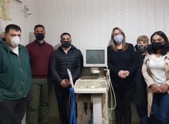 La Comuna local adquirió un ecógrafo doppler para el SAMCo