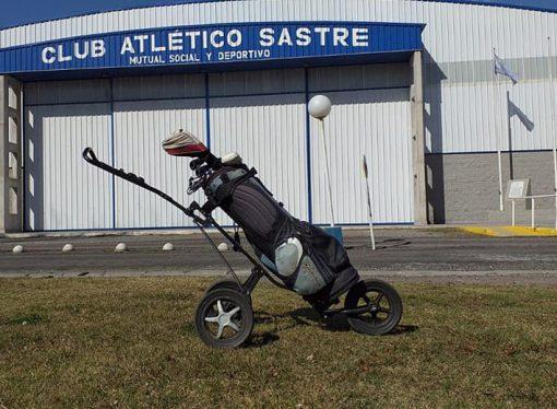 Golf, la nueva disciplina en Atlético Sastre