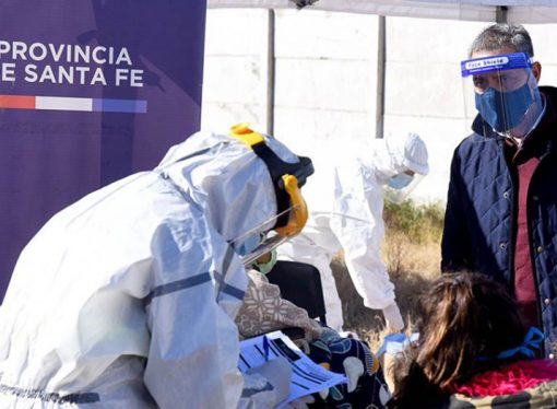 Más de 2.300 contagios en la provincia