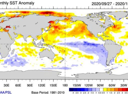 """2020 es el año más seco desde 1961 y ahora llega una Niña """"moderada a intensa"""""""