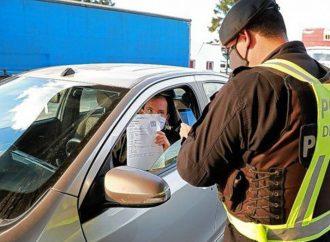La provincia refuerza los controles vehiculares en los accesos interprovinciales y en horarios de circulación restringidos