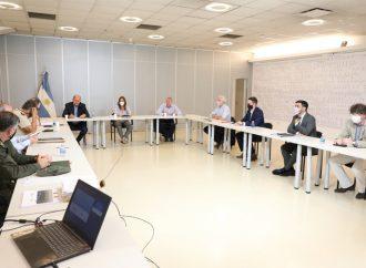 Perotti se reunió con Frederic para delinear despliegues de fuerzas federales en la provincia