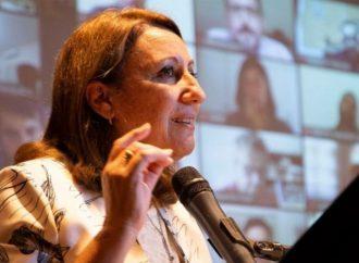 Mónica Fein, la primer mujer en presidir el Partido Socialista