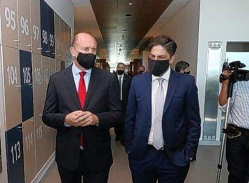 En medio del debate por el regreso a las aulas, Perotti recibe en Santa Fe al ministro de Educación Trotta