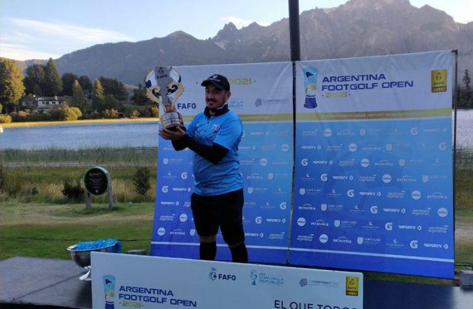 """Un santafesino fue campeón en el Argentina Footgolf Open, título que ostentaba el """"Ratón"""" Ayala"""