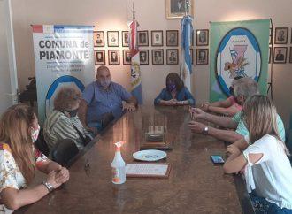 Berra entregó aportes a instituciones de Piamonte