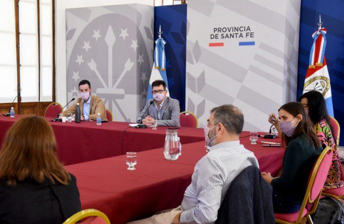 El gobierno de Santa Fe continúa con la ronda de diálogo con partidos políticos