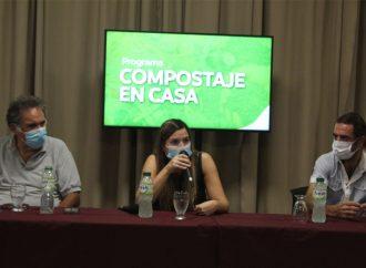 Ulieldin presentó un programa para promover el compostaje y el cuidado del medio ambiente