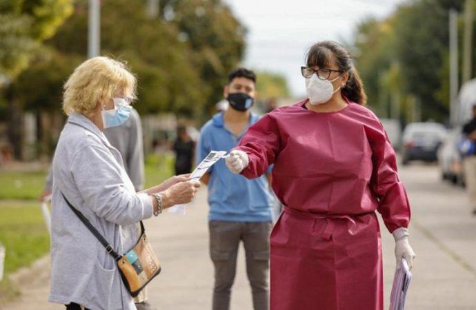 La Provincia profundizó los testeos: seis mil hisopados por día