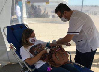 María Susana ya vacunó al 90% de su población