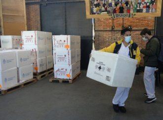 Covid: llega una nueva partida con 300 vacunas a Sastre