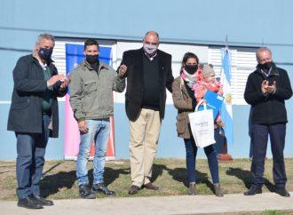 Provincia inauguró viviendas en Piamonte