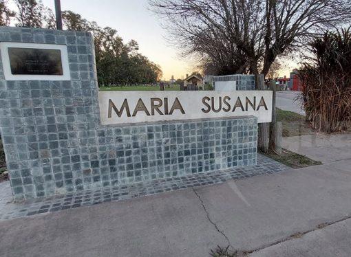 María Susana fue la segunda localidad del departamento en llegar a caso 0