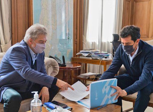 Roberto Mirabella se reunió con el ministro del Interior