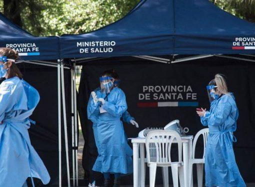 La suba de contagios de coronavirus en Santa Fe no se detiene
