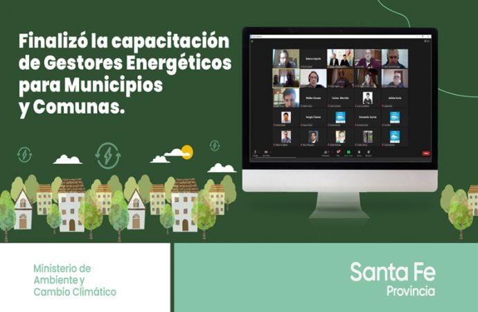 Finalizó la capacitación de gestores energéticos para municipios y comunas