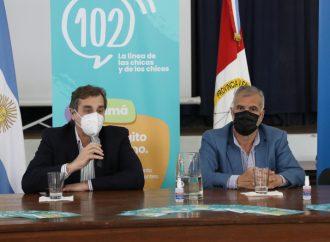 Provincia puso en funcionamiento la línea 102 para denuncias de violencia infantil
