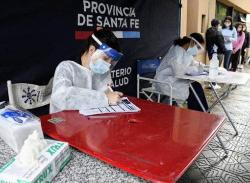 Santa Fe superó los 50 contagios de coronavirus en las últimas 24 horas