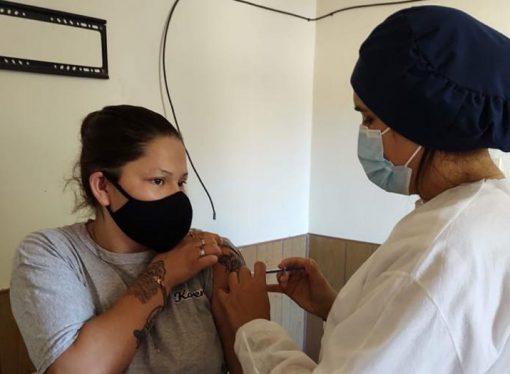 En Sastre ya aplicaron más de 6.450 vacunas contra el Covid